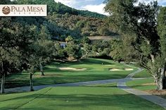 $35 for 18 Holes with Cart, Range Balls and a FREE Replay, If Available at Pala Mesa Golf Resort in Fallbrook, #California. #Golf