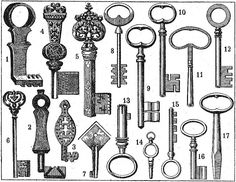 Old keys / Chaves antigas by CGoulao, via Flickr
