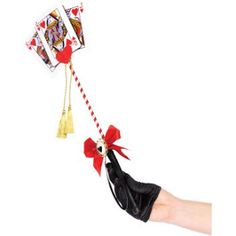 A Penny for My Thoughts: {DIY} Queen of Hearts Scepter [Perfect DIY sceptre. Some prep work required, do in advance. Customizable.]
