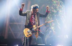 Keith Richards - The Rolling Stones ·- Glastonbury 2013