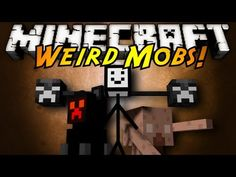 Minecraft Mod Showcase : HUMAN MOBS! - YouTube