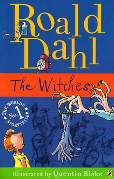 The Witches- Book Cover. This is one of the many book covers that were created for the popular children's novel.