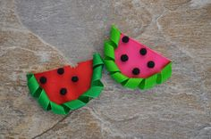Watermelon Ribbon Sculpture