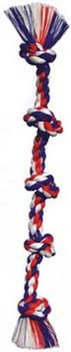 Super X-Large Cottonblend Color 5 Knot Rope Tug. Made from premium cottonblend rope fibers. Rope fibers floss dogs' teeth as they chew and play. Dog Chew Toys, Pet Toys, Durable Dog Toys, Puppy Supplies, Thing 1, Cute Eyes, Dog Teeth, Pet Puppy, Cute Puppies