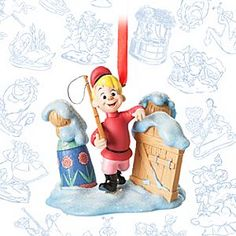 Peter and the Wolf Limited Release Sketchbook Ornament - October 2016 | Disney Store Our Sketchbook Collection offers a monthly series of limited release ornaments from Disney Storybook Classics. For October, hunt-down an expressive ornament inspired by <i>Peter and the Wolf</i> from Walt Disney's <i>Make Mine Music</i>.