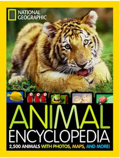 National Geographic Kids: Animal Encyclopedia The Perfect Gift – On Sale At Zulily