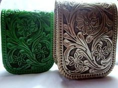 Hand-Tooled Wallet