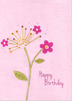 "Our ""Birthday Flower"" card is lovingly handcrafted in Rwanda by young people who have been orphaned by genocide or disease. All the paper is handmade from local"