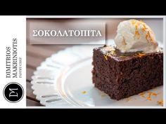 Γρήγορη σοκολατόπιτα - ION Sweets από την ΙΟΝ. Γλυκά με σοκολάτα Youtube, Desserts, Cakes, Food, Tailgate Desserts, Deserts, Cake Makers, Kuchen, Essen