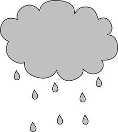 Nuage gris pluie