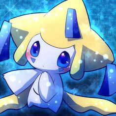 Jirachi the wish pokemon Pokemon Team, Mega Pokemon, Play Pokemon, Pokemon Games, Cute Pokemon, Pokemon Stuff, Anime Chibi, Rayquaza Pokemon, Pokemon Mignon