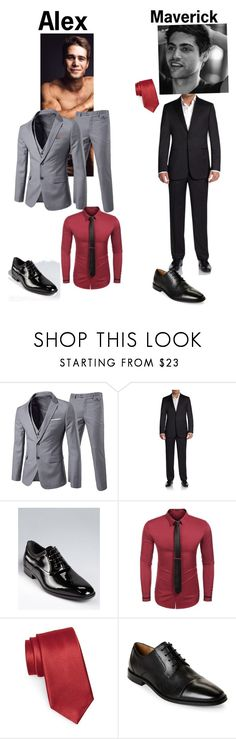 """Christmas ball"" by mad-hatter19 ❤ liked on Polyvore featuring Saks Fifth Avenue, Salvatore Ferragamo, Nordstrom, Florsheim, men's fashion and menswear"