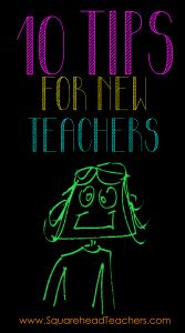 10 tips for new teachers: Quick but very helpful article!