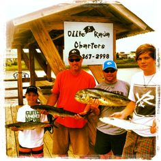 Summer Fishing with Ollie Raja Charters out of Holden Beach, North Carolina