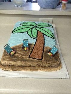 Palm tree cake I just finished by Sheri Petersen sullivan