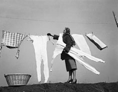 This is how our gym togs looked when Grammy hung them out to dry.  Never mind the cold!