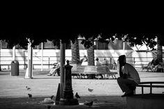 Lui e la fontana by Lorenzo Refrigeri on 500px