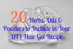 The use of hair gel can be traced as far back as the ancient Egyptians (source) and has been used for decades to define curls, hold a style in place and help create dynamic styles. However, the man… Grease Hairstyles, Diy Hairstyles, Natural Hair Gel, Natural Hair Styles, Diy Hair Gel, Healthy Hair, Egyptians, Hair Care, Herbs