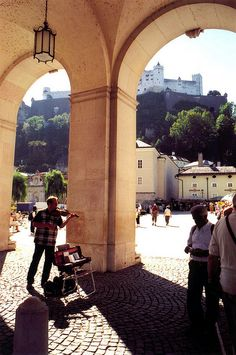 Salzburg, Austria remembering our trip to Europe 2012.