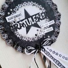Et konfirmasjonkort hvor jeg har brukt #papirdesign sine produkter ♥#kortlaging #konfirmasjon ##konfirmasjonskort #cardmaking #scrapping #craft #papercraft #mann #paper #madebyme #DIY #instacraft #homemadecard