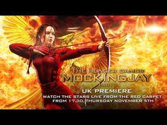 The Hunger Games: Mockingjay - Part 2 UK Premiere - YouTube