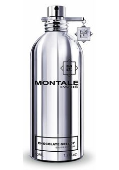 Montale Chocolate Greedy EDP, with notes of deep, dark chocolate, hazelnuts and vanilla. I'm a sucker for gourmand scents...