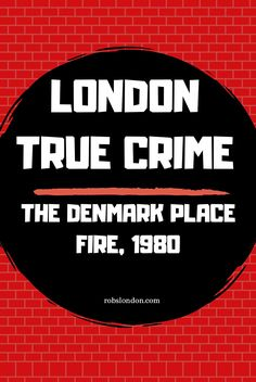 In August 1980, an act of mass murder occurred in central London... sadly, it is little known about today. Denmark Street, London History, London Places, Baker Street, True Crime, Revenge, Acting, Trivia, Brain