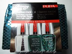 •·.· ́ ̄`heavywings can fly ̄`'·.·•: Glittering Nail Kit by Pupa - Review