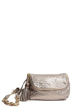 Elliott Lucca Woven Leather Hip Pouch
