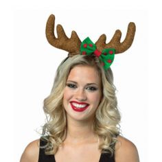 Holiday Reindeer Antlers Headband | Wally's Party Factory #christmas #costume #reindeer #antlers