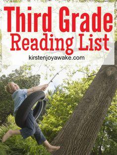 Third Grade Reading List