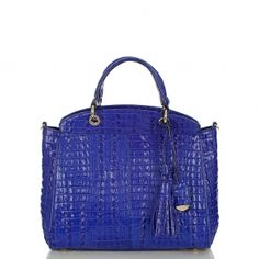 Carry your life in this bag and then some. The beautiful #brahmin sloane satchel. #summer2013