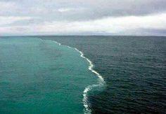 Esta curiosos, es la unión del Océano Indico y el Atlántico en Sudáfrica