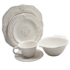 You'll love the 20-Piece Nadine Dinnerware Set at Joss & Main - With Great Deals on all products and Free Shipping on most stuff, even the big stuff.