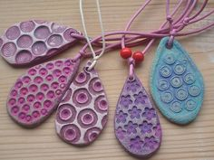 more clay pendants | Flickr - Photo Sharing!