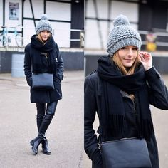 Get this look: http://lb.nu/look/7055588  More looks by Anna R: http://lb.nu/by_annna  Items in this look:  Acne Studios Scarf, Mango Bag