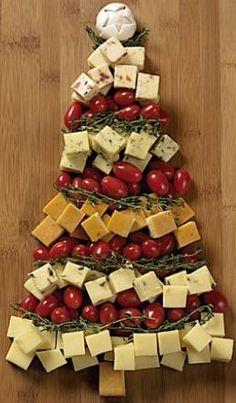 Como preparar uma linda bandeja de aperitivos para o Natal - Arteblog