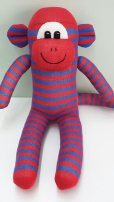 Sock Monkey Www.facebook.com/loobysgifts