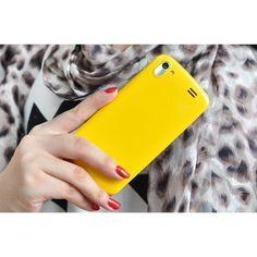 "4 Inch Slim Android 4.2 Phone ""Iris"" - 1.3GHz Dual Core, 3G, Bluetooth, FM Radio (Yellow)"