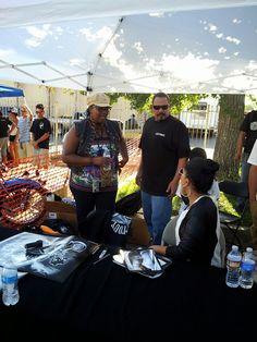 Love them. Emilio and Yadi Rivera - Monster Car and Bike Fest. - Rancho Cucamonga, CA #familia