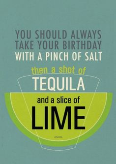 Urban Graphic | A Shot of Tequila and a Slice of Lime