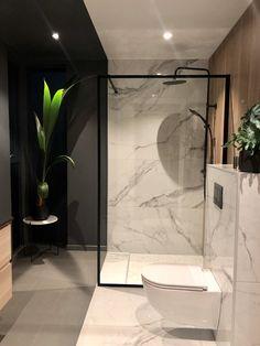 Svanesjø Nelly - Walk in dusj sort matt – Nygaard Bad Bathroom Inspo, Bathroom Inspiration, Concrete Floors, Sorting, Home Interior Design, Future House, Sweet Home, New Homes, Loft