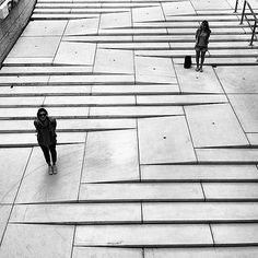 Staircase / ramp at M - Museum, Leuven, NL. Click image to enlarge and visit the…