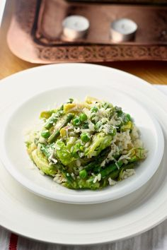 Easy Spring Green Risotto Recipe