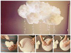Comment fabriquer une lampe nuage • Echantillons gratuits en Belgique