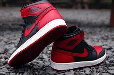 Air Jordan 1 Hi Retro OG Bred 3 Releasing: Air Jordan 1 Retro High OG (Black & Varsity Red)