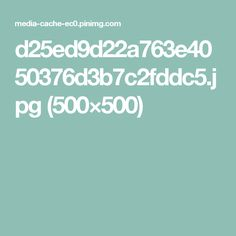d25ed9d22a763e4050376d3b7c2fddc5.jpg (500×500)