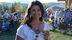 ConciergeQ Host Maria Prekeges at the 2013 Sun Valley Center of the Arts' Grand Wine Tasting and Picnic Concert! #travel #wine #Idaho
