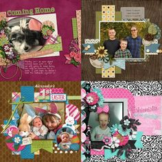 GingerScraps :: Templates :: Only One Volume 6 - 12x12 Temps (CU Ok)