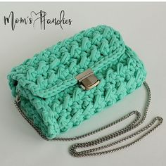 Image Article – Page 634655772461102437 Red Purses, Purses And Bags, Baby Blanket Crochet, Crochet Baby, Bobble Stitch, Simple Bags, Crochet Purses, Yarn Projects, Cute Bags